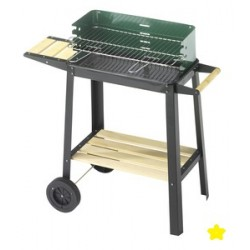 BARBECUE 50-25 GREEN/W